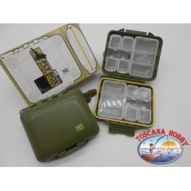 1 box Meiho Fly MFS-242 con accessori waterproof, per minuterie FC.B8