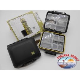 1 box Meiho Fly MFS-243 con accessori waterproof, per minuterie FC.B9