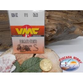1 bustina 20 pz ami VMC, bronzato, paletta, cod.9284BZ sz.10 FC.A425