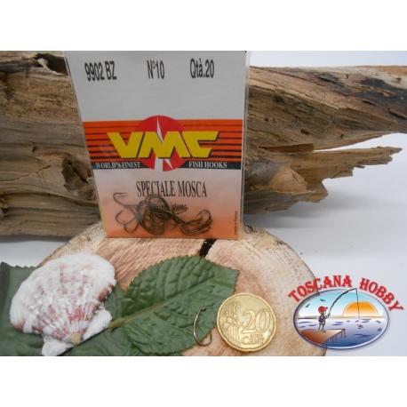 1 päckchen mit 20 stück angelhaken VMC, öse, cod.9902BZ sz.10 FC.A429