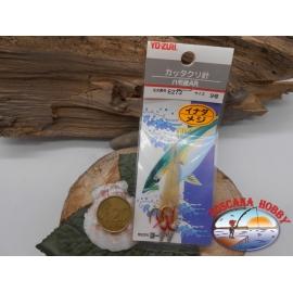 Confezione 2 esche da traina in pelle di pesce Yo-Zuri cod.E273 sz.9 FC.A454