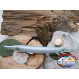 Aal silikon mit magnetrührstab und kabel, 21cm, 26gr FC.T15
