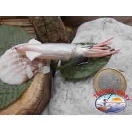 Calamaretto siliconico con ancoretta e cavetto, 8cm, 6gr FC.T19