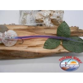Bait craft 20cm col.purple, I love steel cod.74005 Mustad sz.2/0 FC.R292