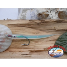 Bait craft 9cm col.heavenly, I love steel cod.74005 Mustad sz.1/0 FC.R297