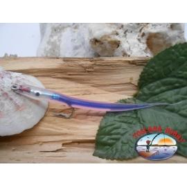 L'appât de l'artisanat 9 cm col.le violet, j'aime l'acier de la morue.74005 Mustad sz.1/0 FC.R300