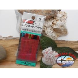 1 pack de holográfica filamentos de Yo-zuri col.1 sz.S FC.T37