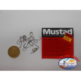"""1 pack of 25 pcs Mustad """"great deal"""" series Nymph sz.14 FC.A512"""