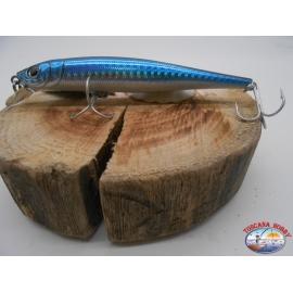Artificial Daiwa,SB11F23,Sea Bass Hunter,11cm-13,5 gr,color Blak Shiner.FC.BR16
