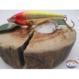 Artificial Rapala,SSR-8CLN, Shad Rap 8cm-9gr,color Clown.FC.BR17