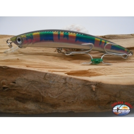 Artificial Yo-zuri Crystal Minnow SP 130 mm-23gr, color:OK. FC.BR34