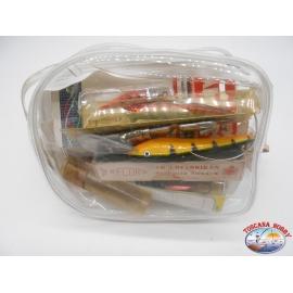 Lotto di artificiali, cucchiaini e accessori vari. FC.BR65