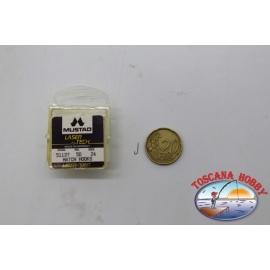 FC.B39B 20 5713 Crystal hook n 1box 100pz ami Mustad cod