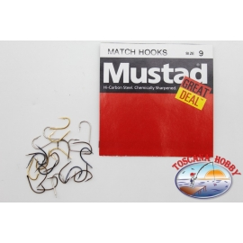 """1 pack of 25 pcs Mustad """"great deal"""" series Dry fly hooks sz.18 FC.A533"""