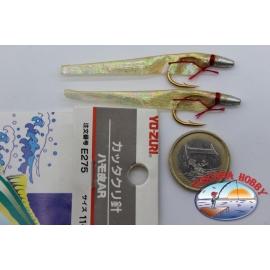 Yo-Zuri-Art Ausgelöst. E275-size-11 Verp. 2 stk.FC.A556