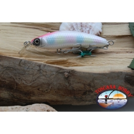 Artificial LIVEBAIT MINNOW, Yo-zuri, flotante, 7cm -7,5 gr Cl. PRB. FC.AR344