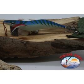 SHRIMP TOTANARE OITA SQUID, Yo-zuri, size: 4.0, Col. L-9, with stripes of fluo. FC.AR544