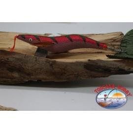CAMARÓN TOTANARE OITA CALAMAR, Yo-zuri, tamaño: 4.0, Cel. L-9, con franjas de colores fluo. FC.AR544