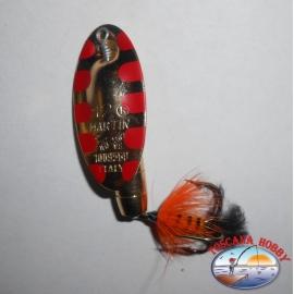 Cucchiaino Rotante Panther Martin da gr. 12,00 - Salamandra Oro.FC.R21
