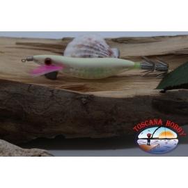 SQUID JIG SUPER LENS, Yo-zuri, size:2.5-7,5 cm. Col. 17 FLUO. FC.AR574