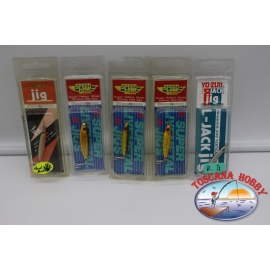LOT OF 4 SALTY's BAIT 20 g, Duel, assorted colors. FC.AR576