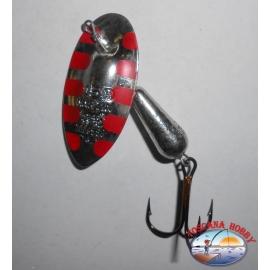 Spoon baits, Panther Martin gr. 15,00 - Silver-Salamander.FC.R33