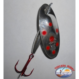 Spoon baits, Panther Martin gr. 20,00 - Silver-Red Dots.FC.R43