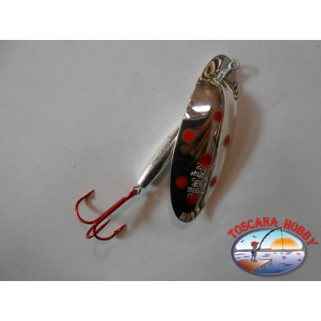Spoon baits, Panther Martin gr. 28,00 Silver - Red Dots.FC.R65