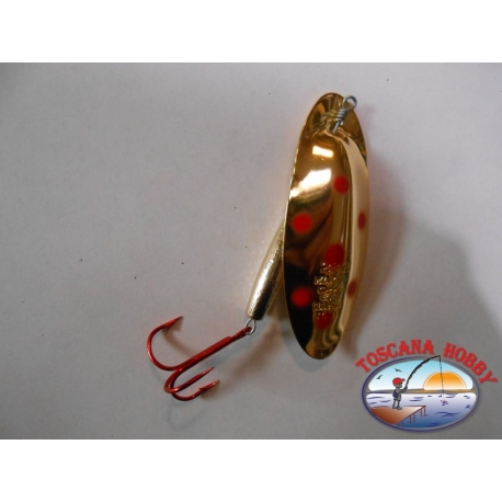 Spoon baits, Panther Martin gr. 28,00 - Gold Red Dots.FC.R66