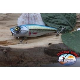 Popperino-De-Vipère, 6cm-8g, flottant, les yeux noirs, la filature. FC.V455