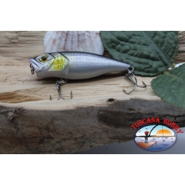 Popperino Minnow Viper, 6cm-8g, floating, silver olographyc, spinning. FC.V469
