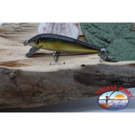 Artificial Amy Minnow Viper, 7cm-7gr, floating, gold, spinning. FC.V477
