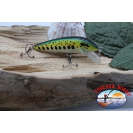 Amy Minnow Viper, 7cm-7gr, floating, spotted gold, spinning. FC.V487