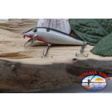 Amy Minnow Viper, 7cm-7gr, floating, silver white, spinning. FC.V490