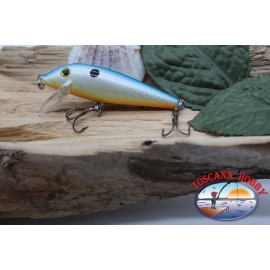 Amy Minnow Viper, 7cm-7gr, floating, white, orange, spinning. FC.V493