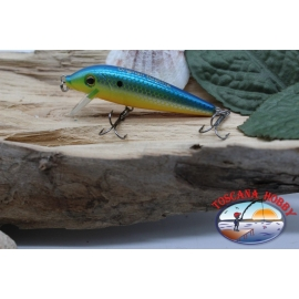 Amy Minnow Viper, 7cm-7gr, floating, yellow/blue, spinning. FC.V494