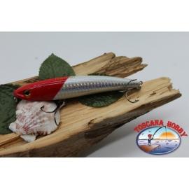 Artificial Liplesses Señuelos sea Viper 11.5 cm-25g de Hundimiento col.cabeza de color rojo.FC.V340