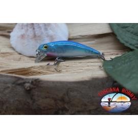 Amy Minnow de Víbora, 4cm-2,2 gr, azul,spinning. FC.V495
