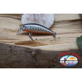 Amy Minnow Viper, 4cm-2,2 gr, silver/orange, spinning. FC.V503