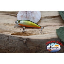 Amy Minnow Viper, 4cm-2,2 gr, golden/orange, spinning. FC.V504