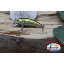 Amy Minnow Viper, 4cm-2,2 gr, golden/black, spinning. FC.V505