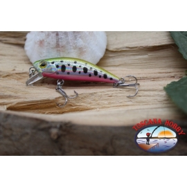 Amy Minnow Viper, 4cm-2,2 gr, spotted gold, spinning. FC.V515