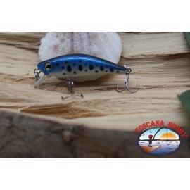 Amy Minnow Viper, 4cm-2,2 gr, gefleckte blue, spinning. FC.V516
