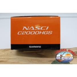 Mulinello Shimano  Nasci C2000HGS Spinning FC.M52