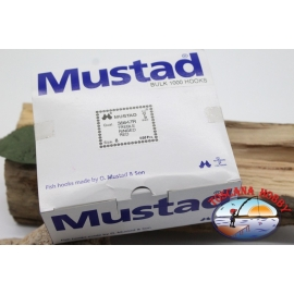 1 confezione 1000 pz ancorette Mustad, cod. 35647R, n.8 FC.E1F