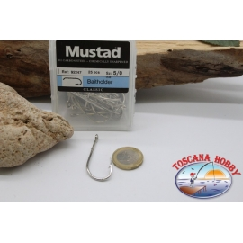 1box 25 pcs Mustad-cod. 92247, no.5/0, cebo titular, FC.B36A