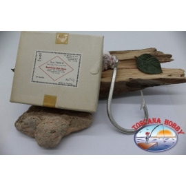 1box 10st angelhaken Mustad cod. 7698B, nr. 14/0, Mate hooks, FC.B44B