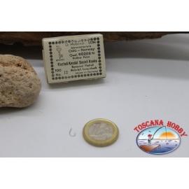 1 boîte de 100 pcs Mustad cod. 90208, pas.12, Tige Longue FC.B48F