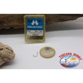 1 box 50pcs hooks Mustad cod. 287A, no.12, Round Hooks FC.B52B