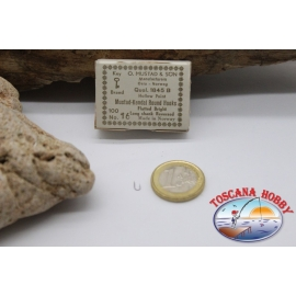 1 boîte de 100 pcs Mustad cod. 1845B, pas.16, Kendal Crochets Ronds FC.B56A